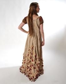 Back view; Dress detail