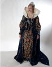 Queen Elizabeth; circa 1588 Winner of the Drama teachers Association of Southern California Costume Design Category 2010.